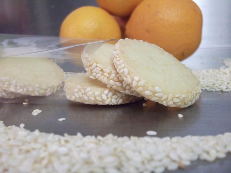 orange sesame